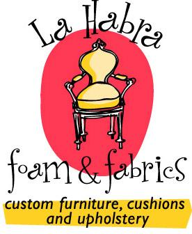 La Habra Foam and Fabrics Logo